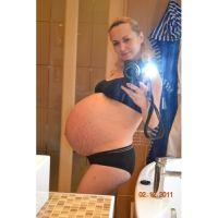 Беременная женщина тройней фото 10
